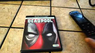 Deadpool 4k review and 4k disk vs upscaled Blu-ray - Samsung K8500 - Js9500