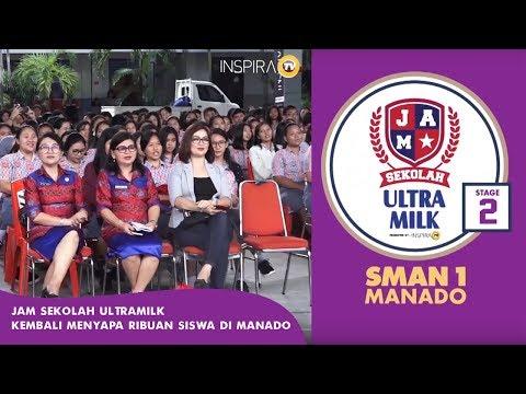 THIS EVENT - JAM SEKOLAH ULTRAMILK KEMBALI MENYAPA RIBUAN SISWA DI MANADO