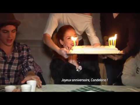Violetta en Concert - Coulisses : l'anniversaire de Cande