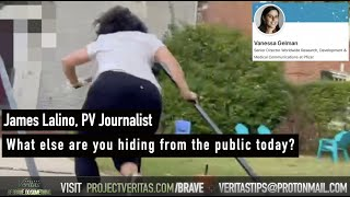 BREAKING: Pfizer Senior Director of Worldwide Research Vanessa Gelman RUNS from Veritas' Questions