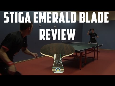 STIGA Emerald VPS Blade Review