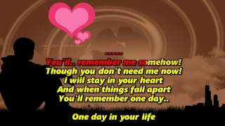 One Day In Your Life (Karaoke HD) - Michael Jackson
