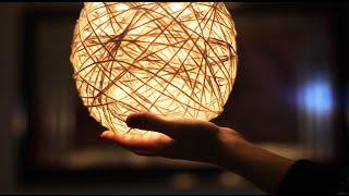 Luminária de Barbante – Aprenda a fazer