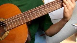 preview picture of video 'Un poco de guitarra. By Tomás'