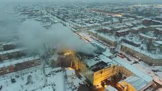 Пожар в ТЦ ЗИМНЯЯ ВИШНЯ. Кемерово 25.03.2018