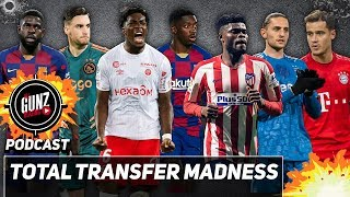 Total Transfer Madness | All Gunz Blazing Podcast Ft. DT