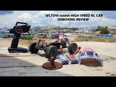 WLToys 144001 4x4 RC Car Review - up to 60 km/h!