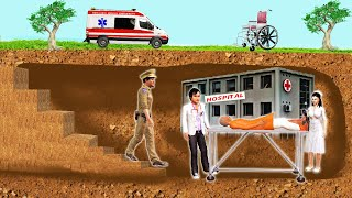 भूमिगत अस्पताल Underground Hospital Story Funny Comedy Video Hindi Kahaniya New Stories in Hindi