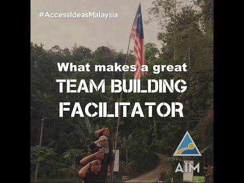 What makes a great team building facilitator?