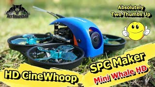 CineWhooping My Apartment Mini Whale HD Cinewhoop FPV Racing Drone