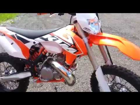 KTM 300EXC 2015 STARTUP AND TESTRIDE