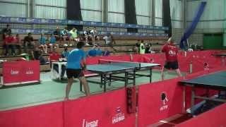 Tenis de mesa - Michael Kleefeldt vs Wesley Rosa - Jogos de Minas 2013
