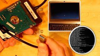 Laptop startet nicht - Daten retten und Festplatte reparieren mit CHKDSK | JJtech