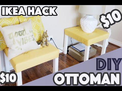 DIY Sitzbank - IKEA Hack aus einem einfachen Lacktisch