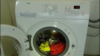 AEG Lavamat Protex L72475FL, Centrifuging and pumping program, Washing machine, example test #194