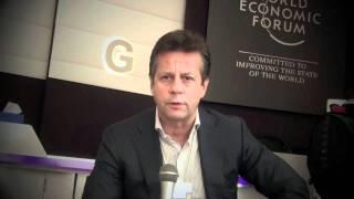 Carlos Creus Moreira at Davos 2012