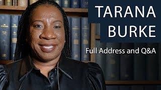 Founder of #MeToo Movement, Tarana Burke   Full Address and Q&A   Oxford Union