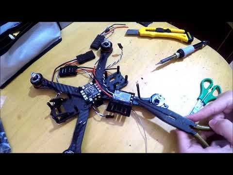 BUILDING DRONE FREESTYLE / LONG RANGE (L9R RSSI OSD)