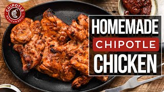 Chipotles Official Chicken Recipe!