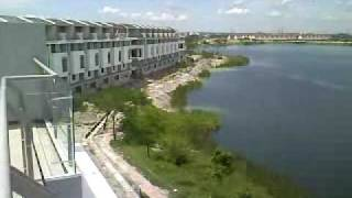 preview picture of video 'Roof Deck View of Townvilla, Taman Tasik Prima, Puchong. Selangor'