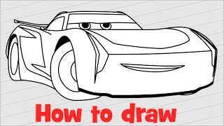 How To Draw Cars 3 Jackson Storm Free Online Videos Best Movies Tv