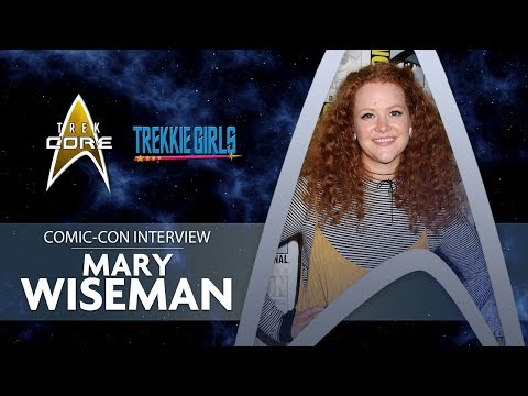 "Mary Wiseman Interview - ""Star Trek: Discovery"" SDCC Comic Con 2017 