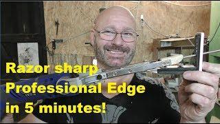 Knife Sharpening Reinvented!