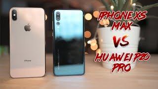 Apple iPhone XS Max vs Huawei P20 Pro Camera Comparison