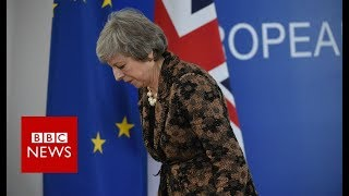 Theresa May: 'If we are to leave with a deal this is it' - BBC News