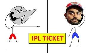 IPL Ticket : Halkat Call 2 | Angry Prash