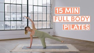 15 Minute Full Body Pilates Workout