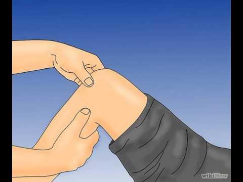 Masajear el procedimiento columna torácica