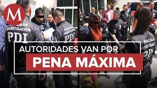 Trasladan a presuntos feminicidas de Fátima a la CDMX