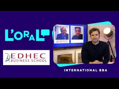 L'oral en français : Bachelor of Business Administration (International BBA) Edhec