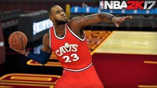NBA 2K17 LeBron James - Full Court Challenge