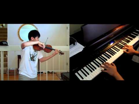 "Jay Chou - Secret ""Lu Xiao Yu"" (Rain) for violin/piano feat. Josh Chiu"