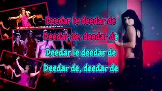 """Deedar De (from """"Dus"""") - Instrumental / Karaoke with Lyrics"""