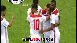 """""""المغرب"""" تفوز امام إستونيا 3/1 استعداداٌ لكأس العالم"""