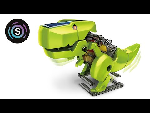 Youtube Video for T4 Transforming Solar Robot