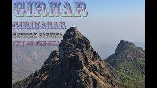 Gujarat Tallest Hill 10,000 steps to reach Dattatrey Temple | Girnar | Gir | Ambaji | Holy Hill