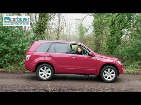 Suzuki Grand Vitara SUV review - CarBuyer
