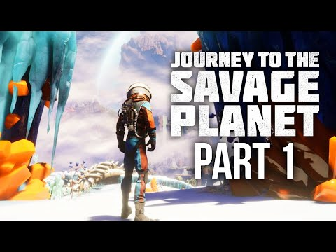 Gameplay de Journey to the Savage Planet
