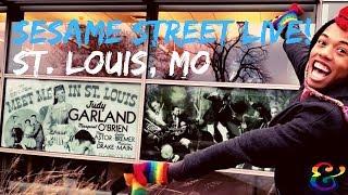 Sesame Street LIVE Tour Vlog - St. Louis, MO