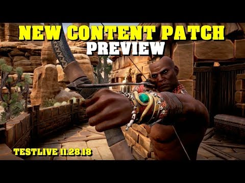Conan Exiles Katana And Bow Update Released | Patch Notes