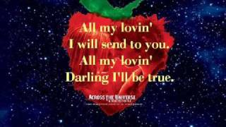 All My Loving-From Across the Universe (W. Lyrics)