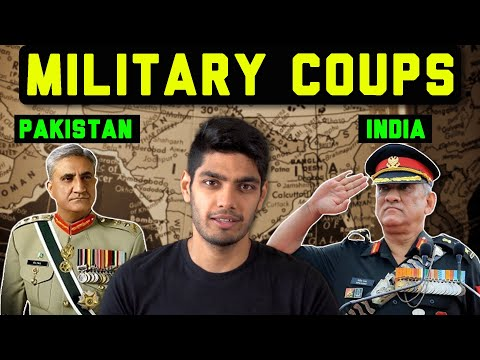 Pakistan has seen 3 military coups. India none. Why?