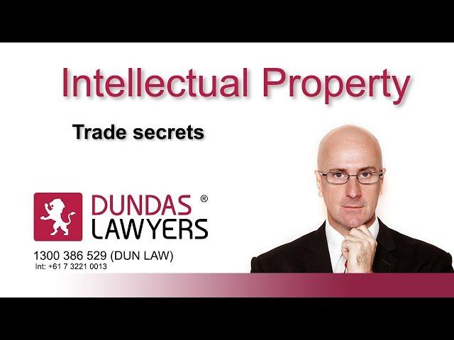 Trade secrets in Australia