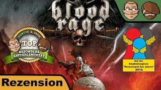 Blood Rage - Brettspiel - Review