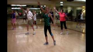 """Gimme Some Lovin'"" Senior Fitness Class Dance Routine by Stefany Adinaro"