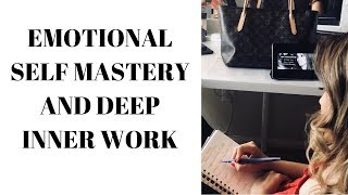 Deep Inner Work, Limiting Beliefs, Triggers, Emotional Self Mastery,  FEMININE FLAVORS!